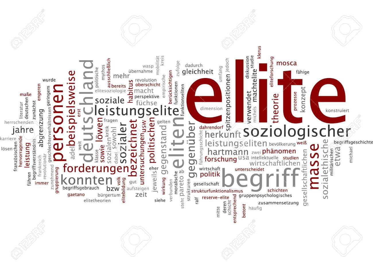Elite politique – Avant 1962