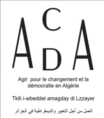 Agir pour le Changement et la Démocratie en Algérie -ACDA