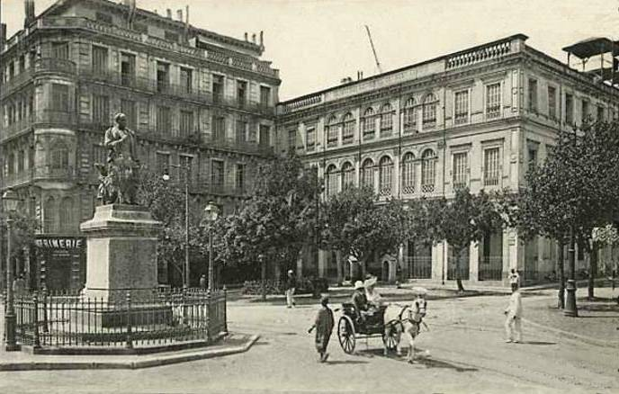 alger place d'Isly - 1870
