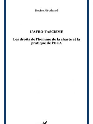 L'Afro-fascisme, L'Harmattan